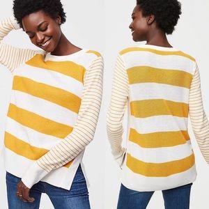 Ann Taylor Loft Crew Neck Knit Sweater Sz M